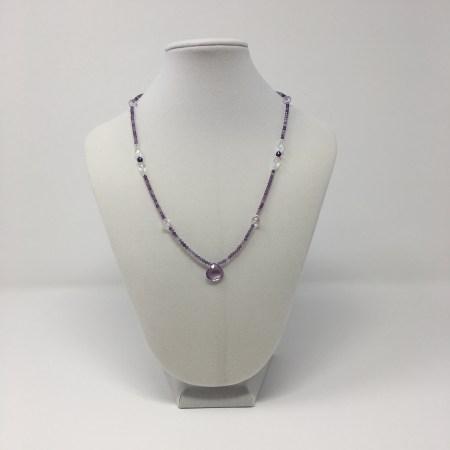 divine connection, divine feminine, amethyst, amethyst necklace, amethyst jewelry