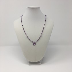 divine connection, divine feminine, royal energy, amethyst necklace, amethyst jewelry