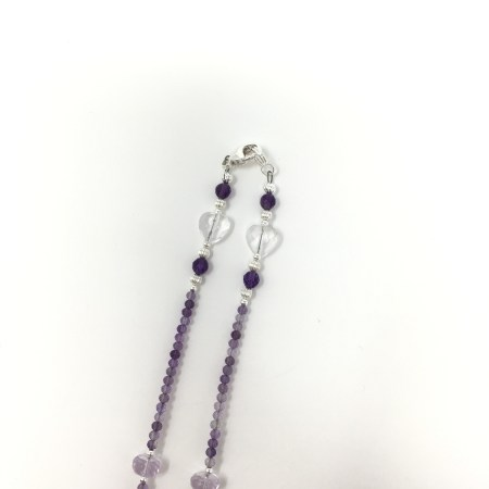 divine connection, divine feminine, amethyst, amethyst necklace, amethyst jewelry