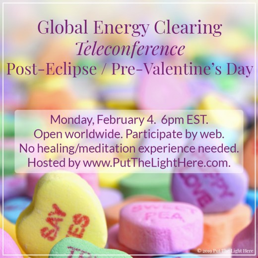 laura ockel, valentine's day, empath valentine, energy clearing, lightworkers