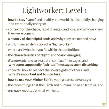 lightworker, lightworker course, ascension course, awakening, higher consciousness