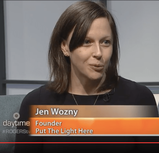 jen wozny, put the light here, lightwarrior, genuine lightworker, self-discovery, government of canada