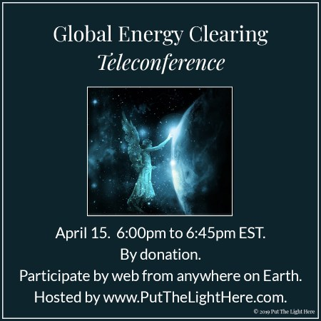 shamans, lightwarriors, lightworkers, global energy clearing, unify the light