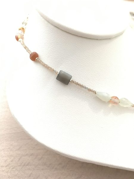 moonstone necklace, moonstone jewelry, psychic jewelry, develop intuition, feminine energy