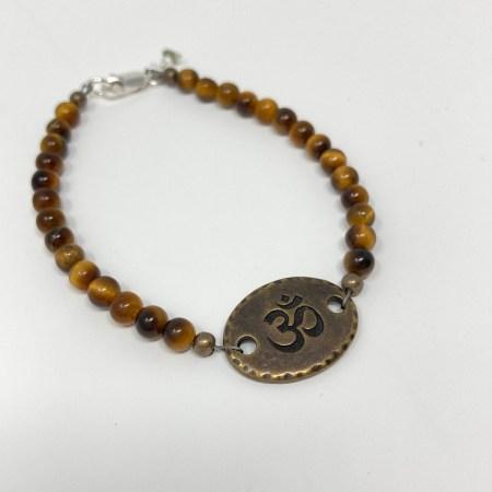 tigers eye, tiger's eye jewelry, tiger's eye bracelet, yoga gift, meditation gift,