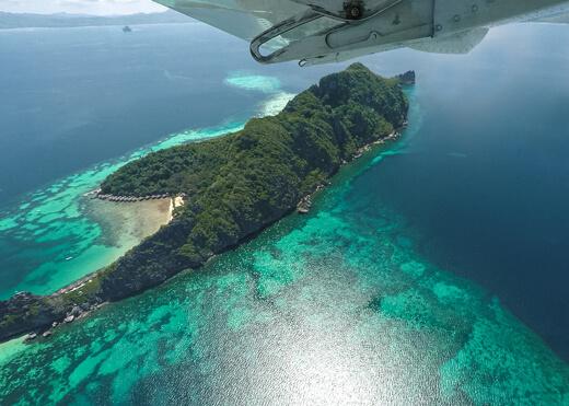 El Nido Seaplane view