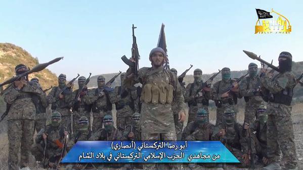 Borci Turkistanske islamske stranke u Siriji