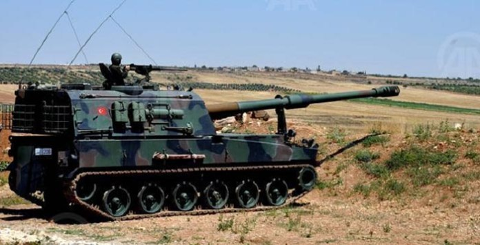 Turski tenk na granici sa Sirijom