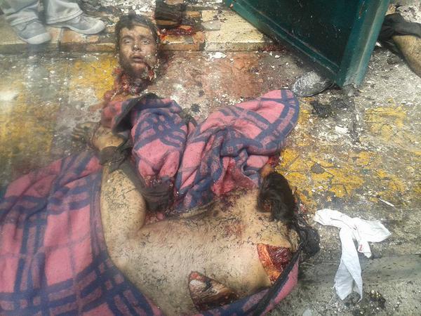Samoubica koji se eksplodirao ispred Serijatskog suda u Salkinu