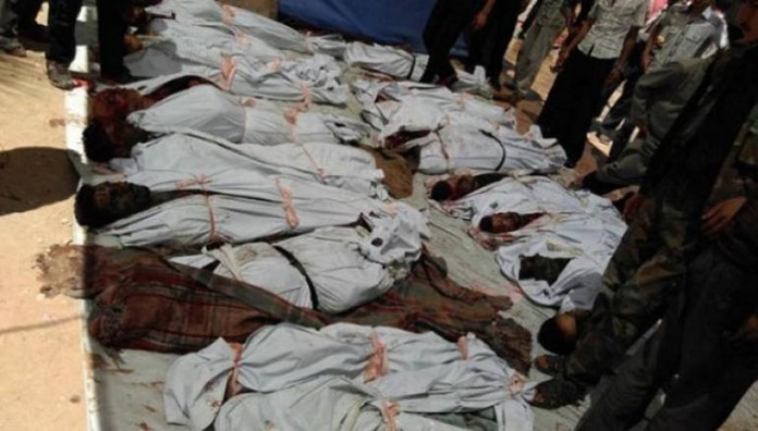 Masakr sirijskog režima nad muslimanima Gute