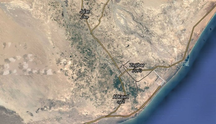 Zindzibar, Jemen, AKAP