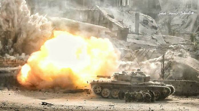Sirija, Famask, rat