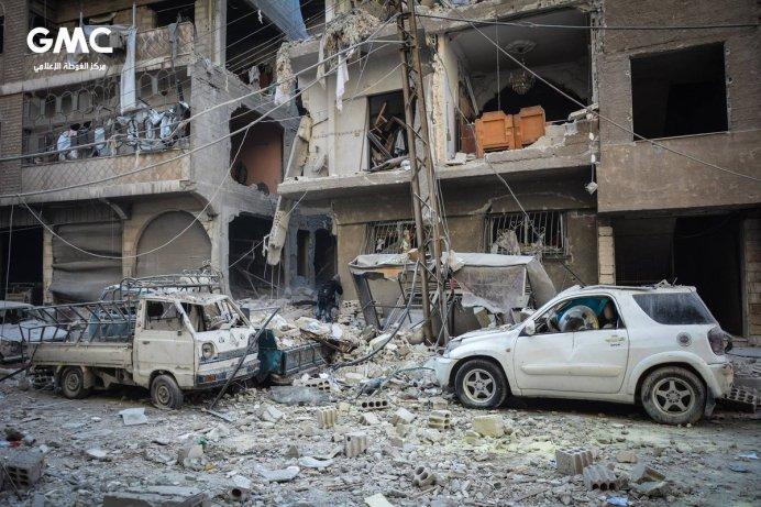 Troje djece i njihovi roditelji ubijeni u režimskom bombardovanju Dume