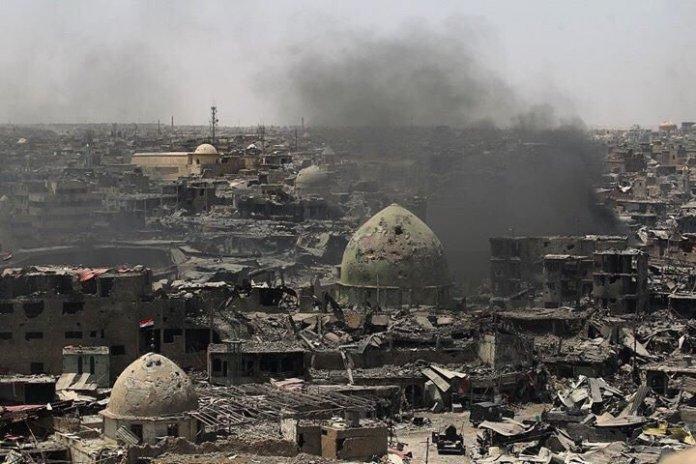Mosul, ofanziva na Mosul, porušeni Mosul