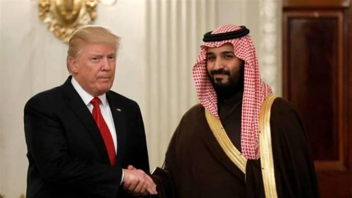 Trump i Bin Selman