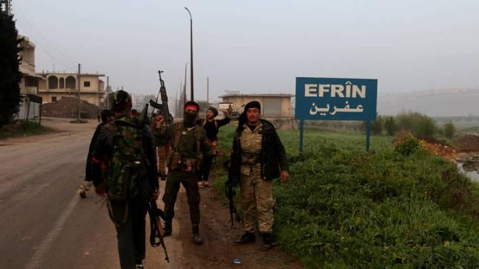 Turska vojska i FSA usle u Afrin