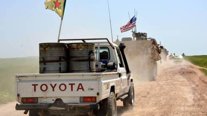 Kurdske i američke snage u Siriji