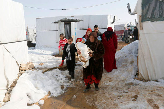 sirijske izbjeglice, hladnoca