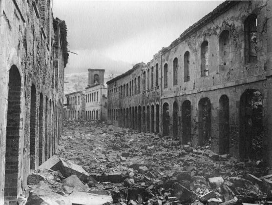 Grad St. Pierre nakon katastrofe