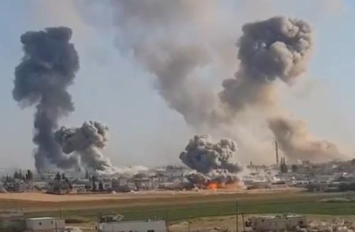 Bombardovanje Idliba