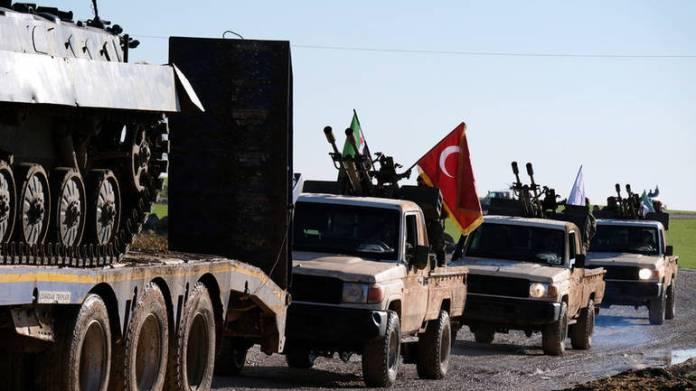 Turske snage u blizini Manbidža