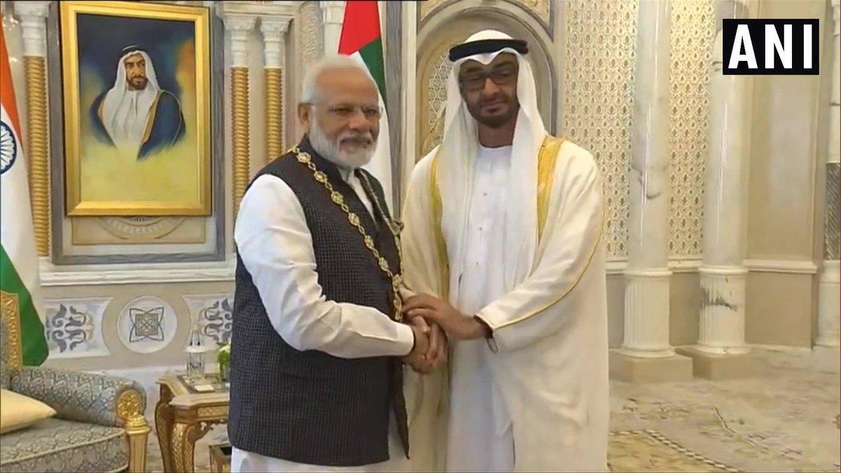 Tagut Emirata dodijeljuje medalju za ljudska prava čovjeku koji je na muslimane Kašmira poslao 750 000 vojnika