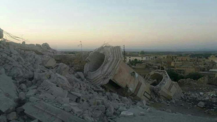 Uništene ili teško oštećene džamije u zadnjoj krstaško-šijitskoj ofanzivi u Idlibu