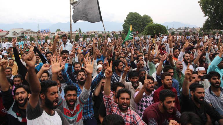 Protesti muslimana Kašmira