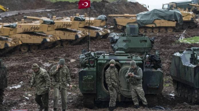 Sirija, turska vojska