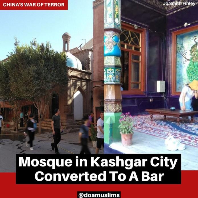 Dzamija u Kasgaru pretvorena u bar