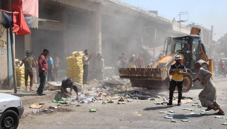 Nove žrtve zračnih napada u Siriji: Poginulo pet, ranjeno deset civila