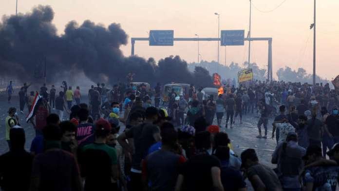 Demonstranti u Bagdadu