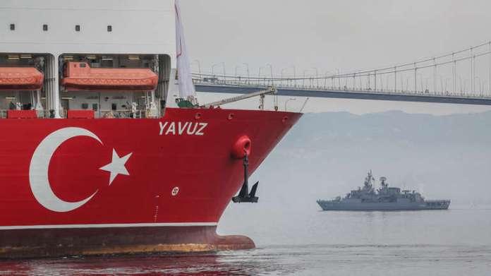 Turski brod u Sredozemlju