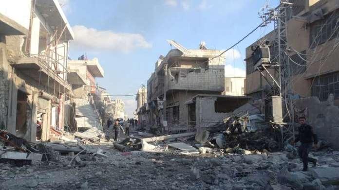 Među metama napada bile su škola, pekara, pijaca i džamija u selu Bara [Anadolija]