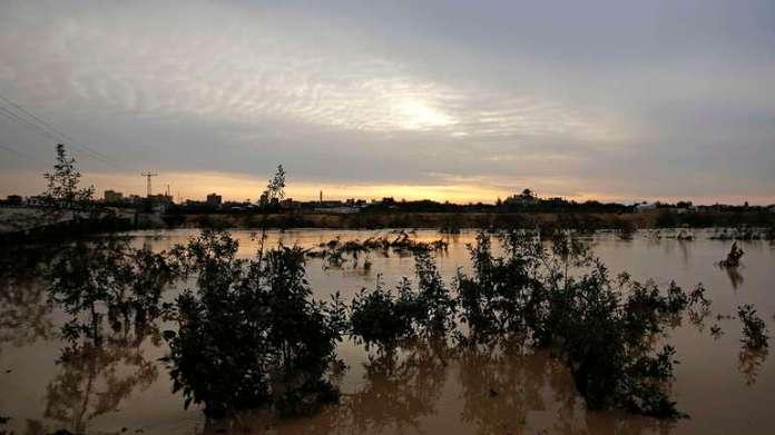 Gaza, poplava