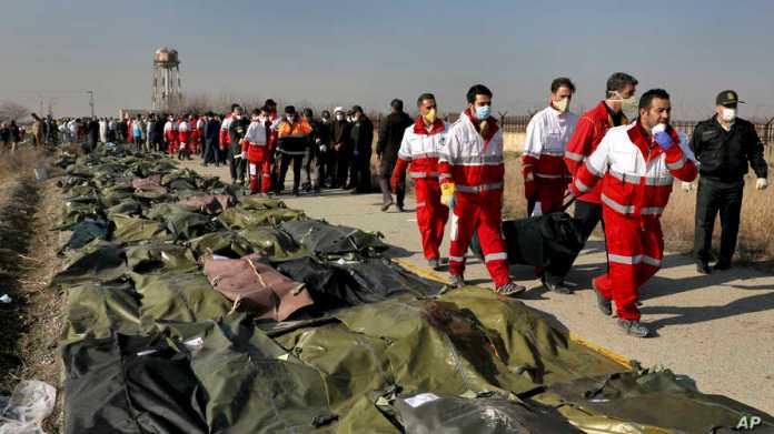 Iran srušio ukrajinski avion