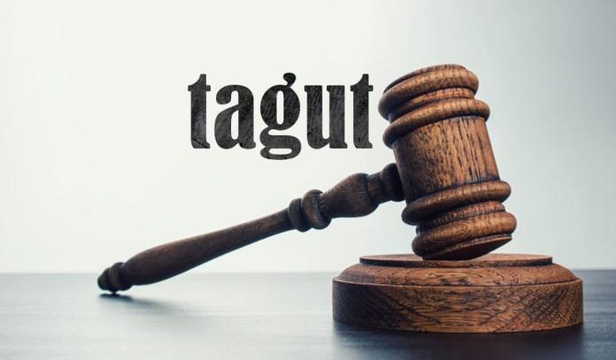 tagut, sekularne sudnice