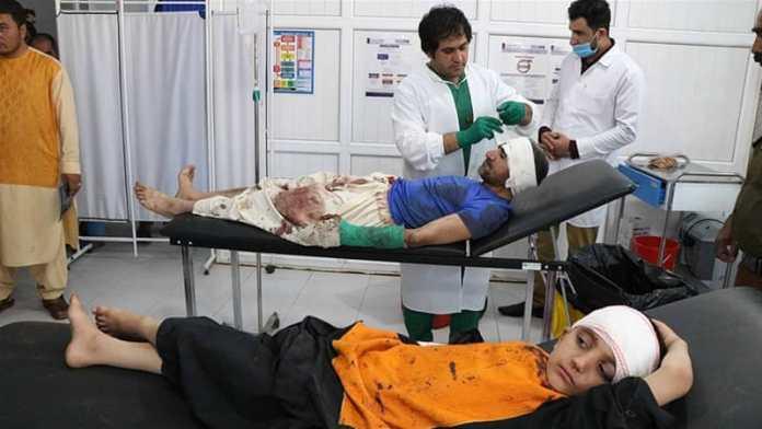 Ranjeni civili u napadu afganistanskih marionetskih vlada