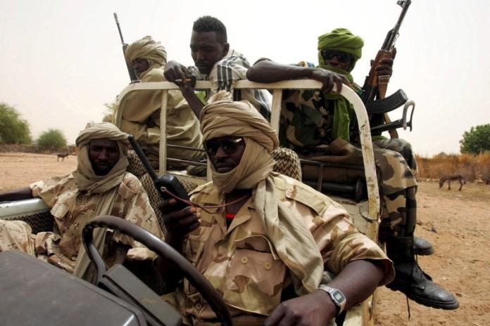 Pripadnici sudanske milicije Džendževid