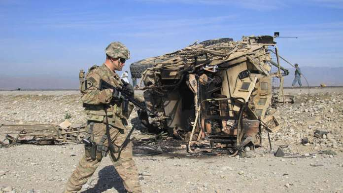 Nato vojnik u Afganistanu