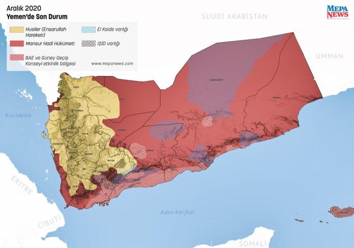 Mapa Jemena