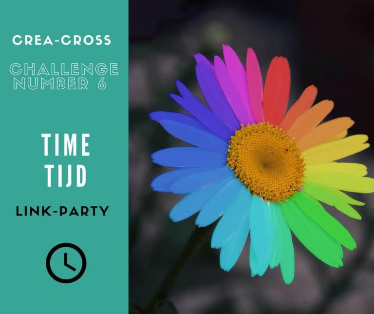 Een nieuwe Crea-Cross: thema tijd