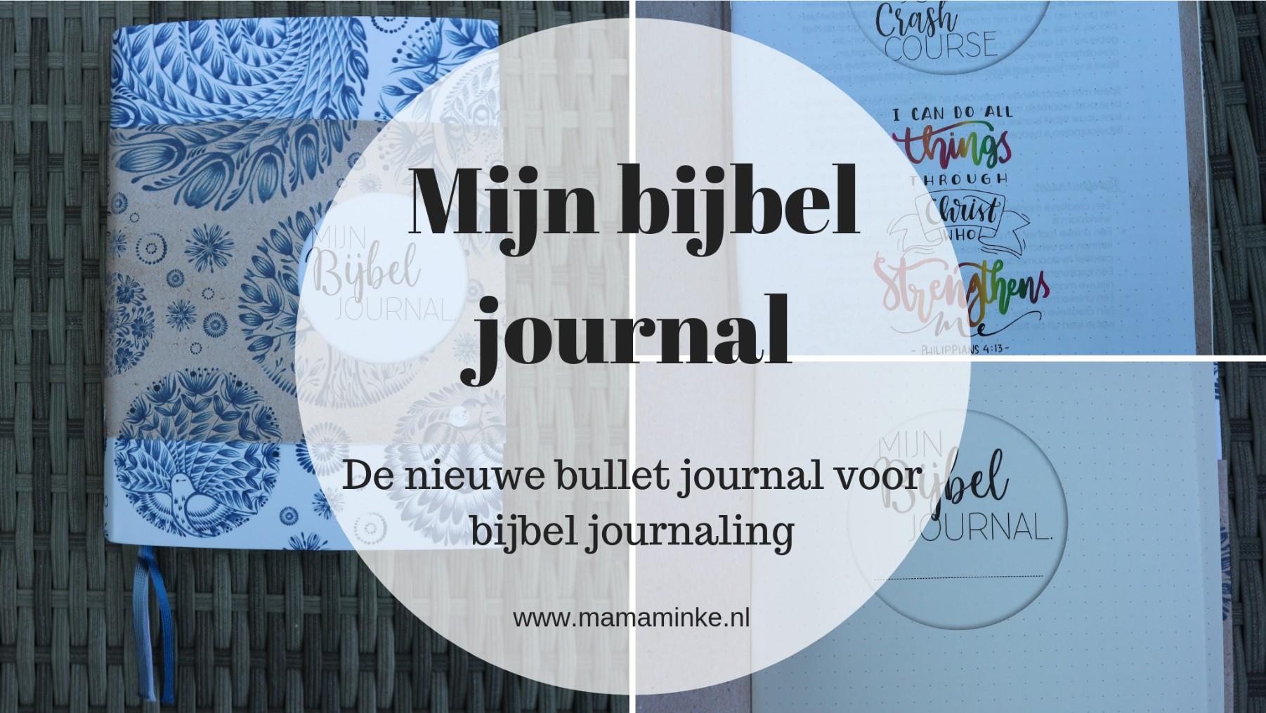Review mijn bijbel journal – Mus bijbel journal lijn