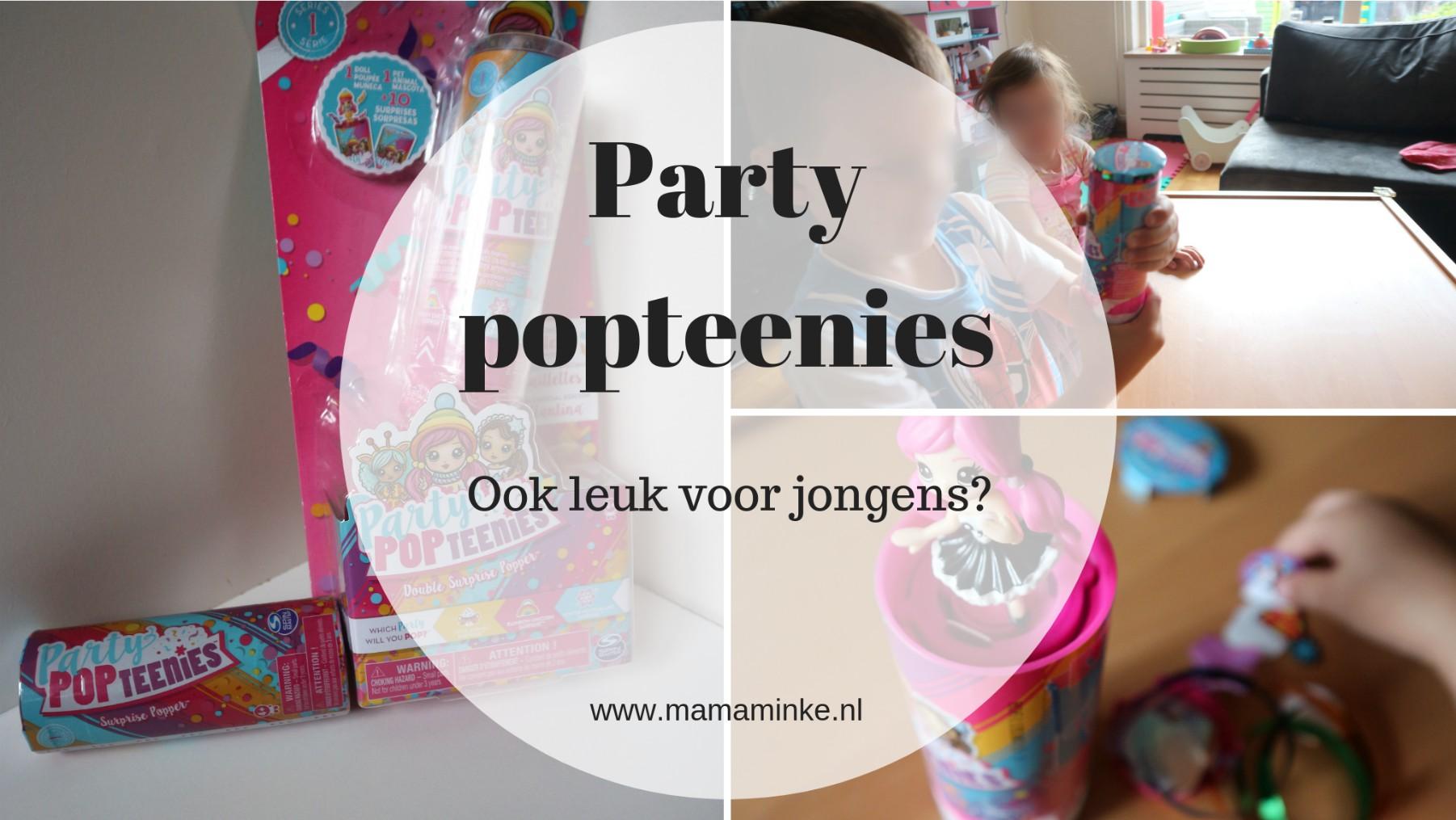 Gender neutraal opvoeden – party popteenies voor jongens!