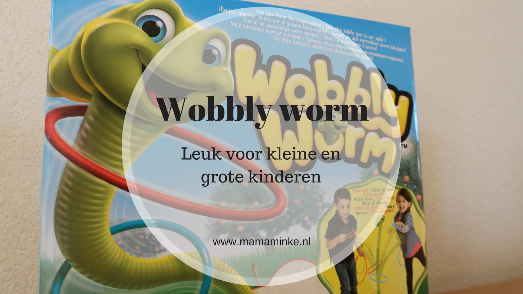 Wobbly worm, leuk spelletje voor kleine en grote kinderen