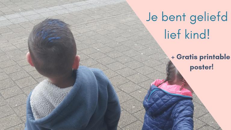 Lieve zoon en dochter, je bent geliefd – gratis printable