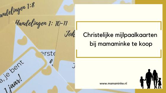 Christelijke mijlpaalkaarten dankzij drukwerknodig.nl