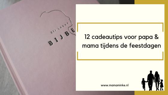 12 cadeautips voor mama en papa tijdens feestdagen