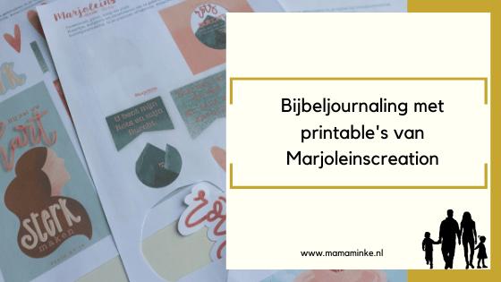 Psalm 31 vers 4: bijbel journaling met printable's!