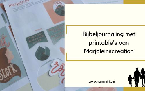 Bijbel journaling met printable's uitgelichte afbeelding